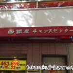 東京で一番有名な宝くじ売り場「西銀座チャンスセンター」へ行ってきました